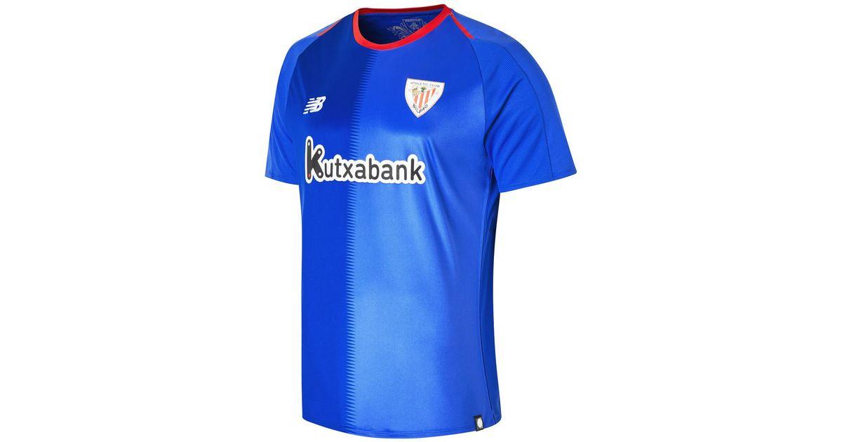 best website 3b9c9 3e988 New Balance - Blue Athletic Club Bilbao 2018-2019 Away T-shirt for Men -  Lyst