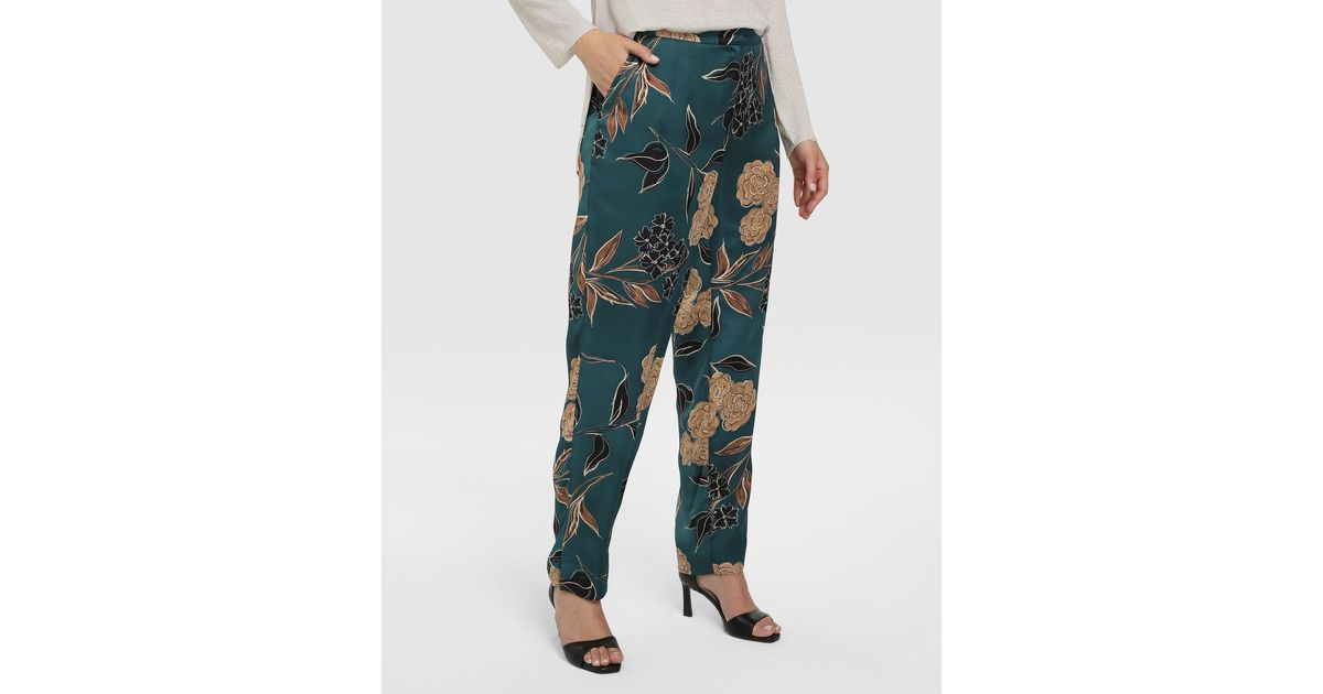 Couchel Synthetic Plus Size Floral Print Loose Fitting