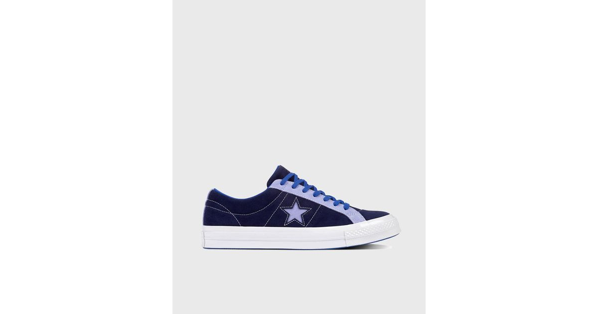 f29d72e97658 Converse One Star Carnival Ox Unisex Casual Trainers in Blue for Men - Lyst