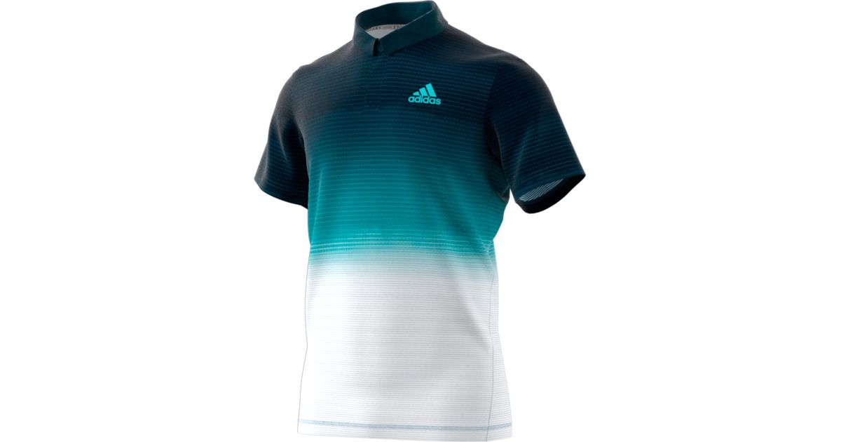 2ede52f33 adidas Parley Polo Shirt in Blue for Men - Lyst