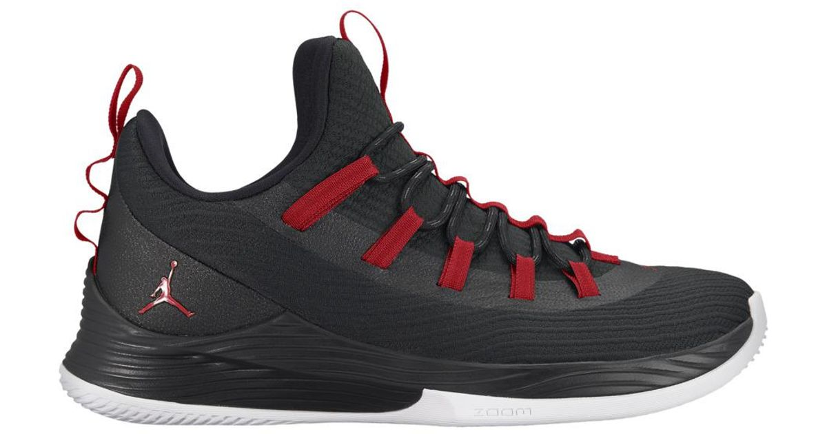 pretty nice 91dcf 2d3b9 Nike Black Jordan Ultra Fly 2 Low Basketball Shoes for men