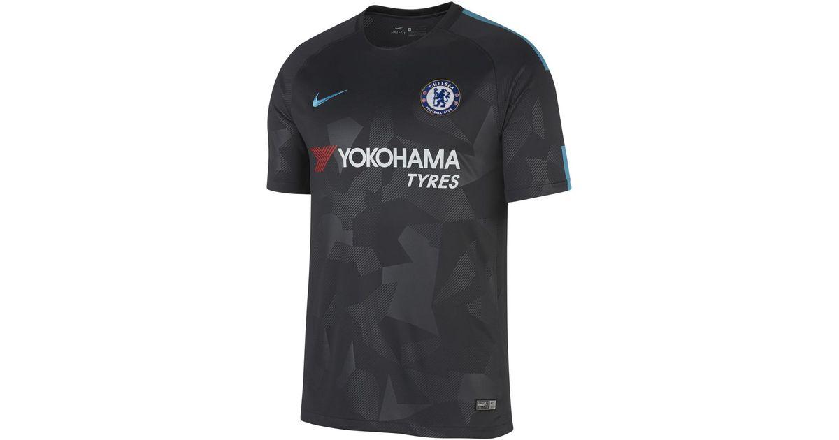 size 40 92b5e 16f58 Nike - Multicolor Chelsea Fc Breathe Stadium 2017-2018 Third Strip T-shirt  for Men - Lyst