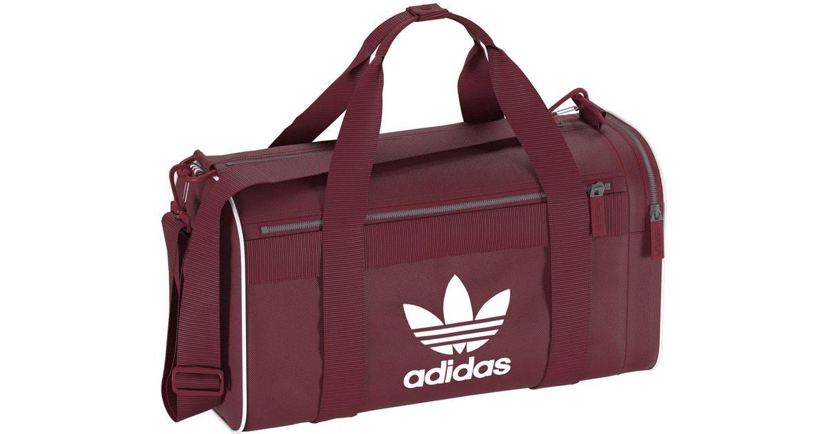 Adidas Originals Purple Duffle M Sports Bag For Men