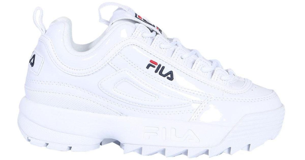 fila disruptor glossy white Sale Fila