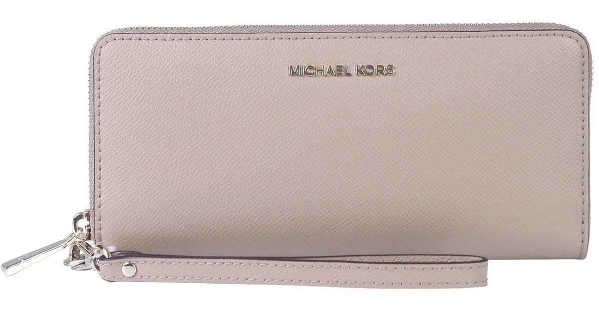 comprare popolare 3ead5 168a1 MICHAEL Michael Kors - Multicolor Portafoglio In Pelle - Lyst