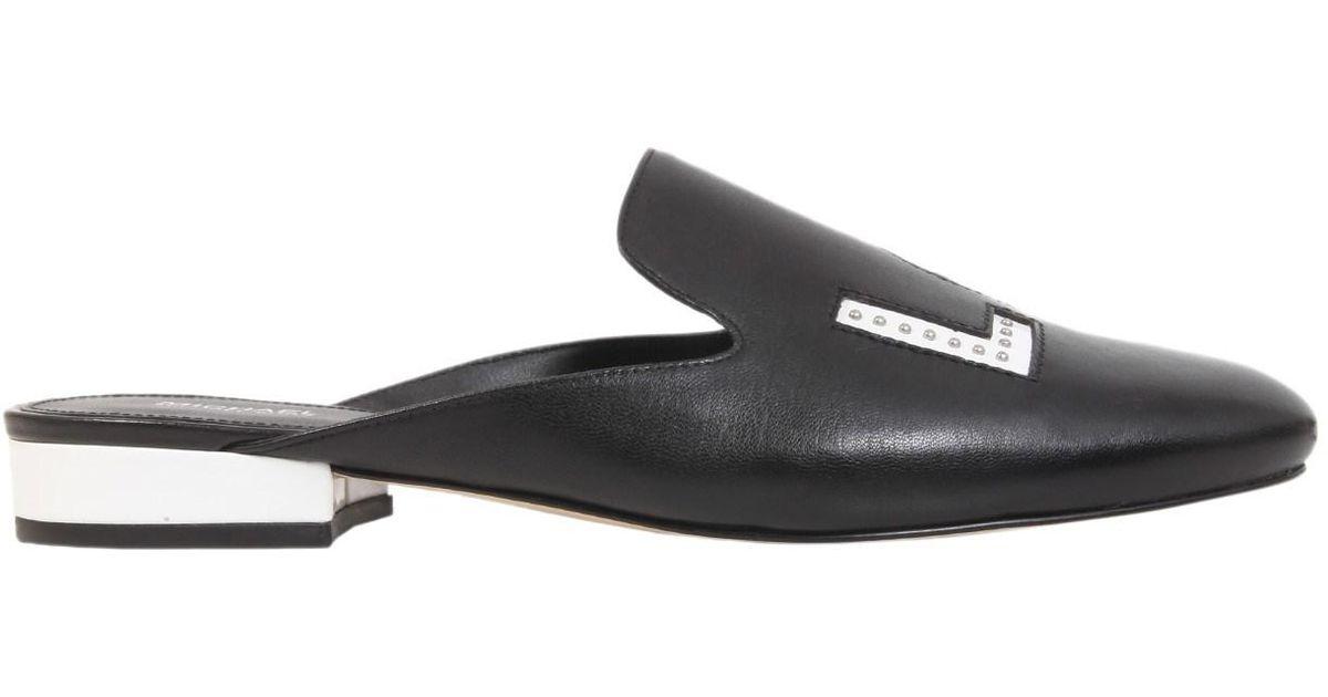 ca03f608ce69 MICHAEL Michael Kors Slide Natasha In Pelle in Black - Save 34% - Lyst