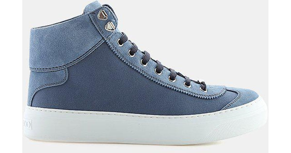 Sneakers High Argyle suede stars Jimmy Choo London wk7XYAPyq