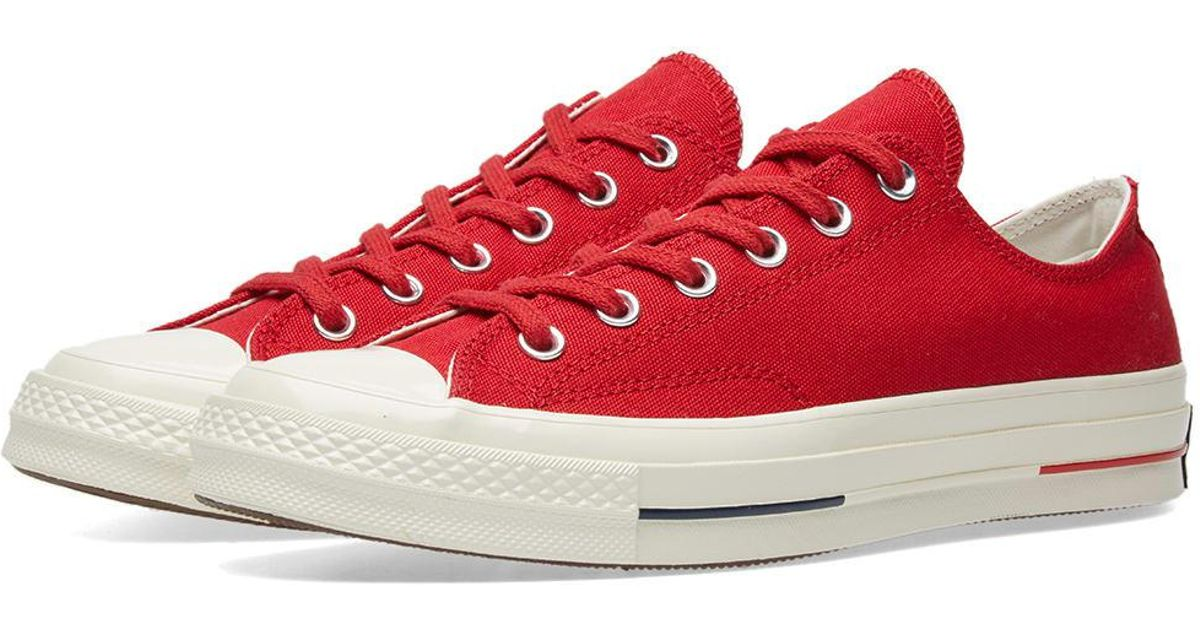 7a65236f5253 Lyst - Converse Chuck 70  heritage Court  in Red