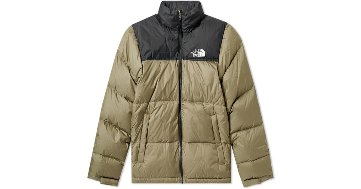 Lyst - The North Face Green 1996 Retro Nuptse Down Jacket in Green for Men f602b101e