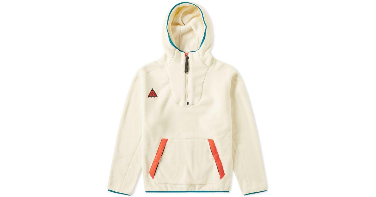 promo code e06ca 64cef Nike Acg Sherpa Fleece Hoody for Men - Lyst