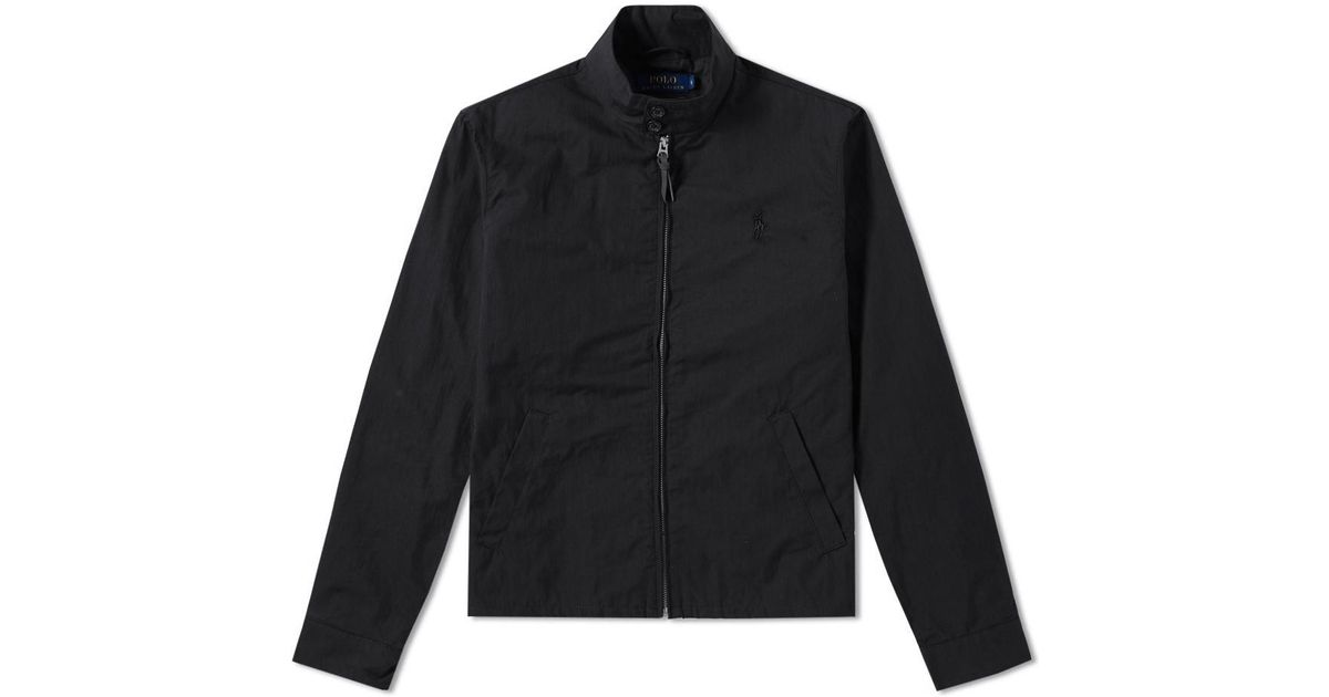 43c2d0e67b9a Polo Ralph Lauren Barracuda Lined Jacket in Black for Men - Lyst