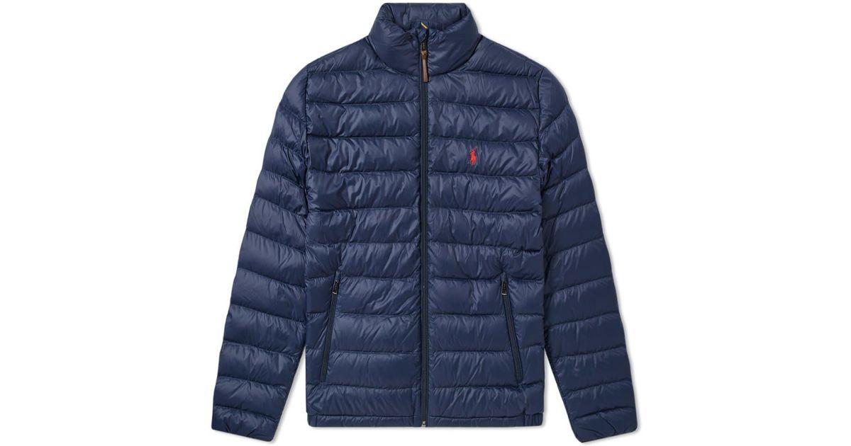 Down Jacket Blue Bleeker Men Polo For Ralph Lauren 8XnwkOPN0