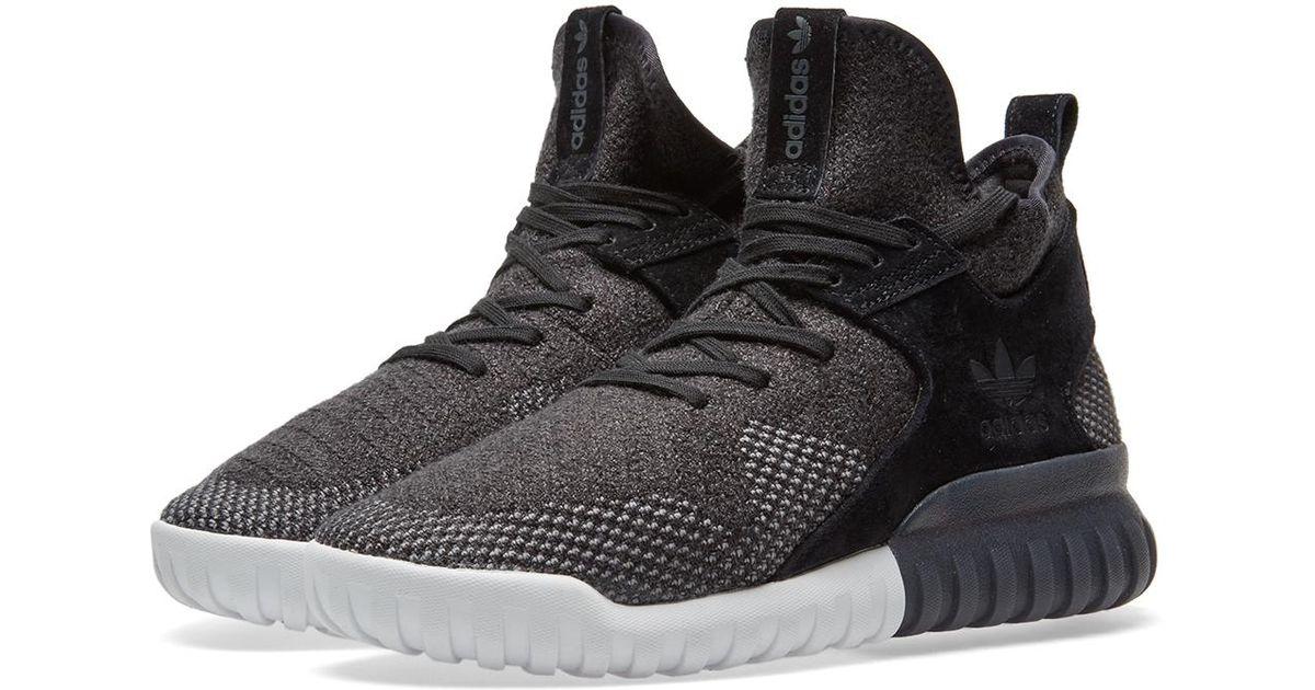 huge discount b34cd b082a Adidas Originals - Black Tubular X Pk for Men - Lyst
