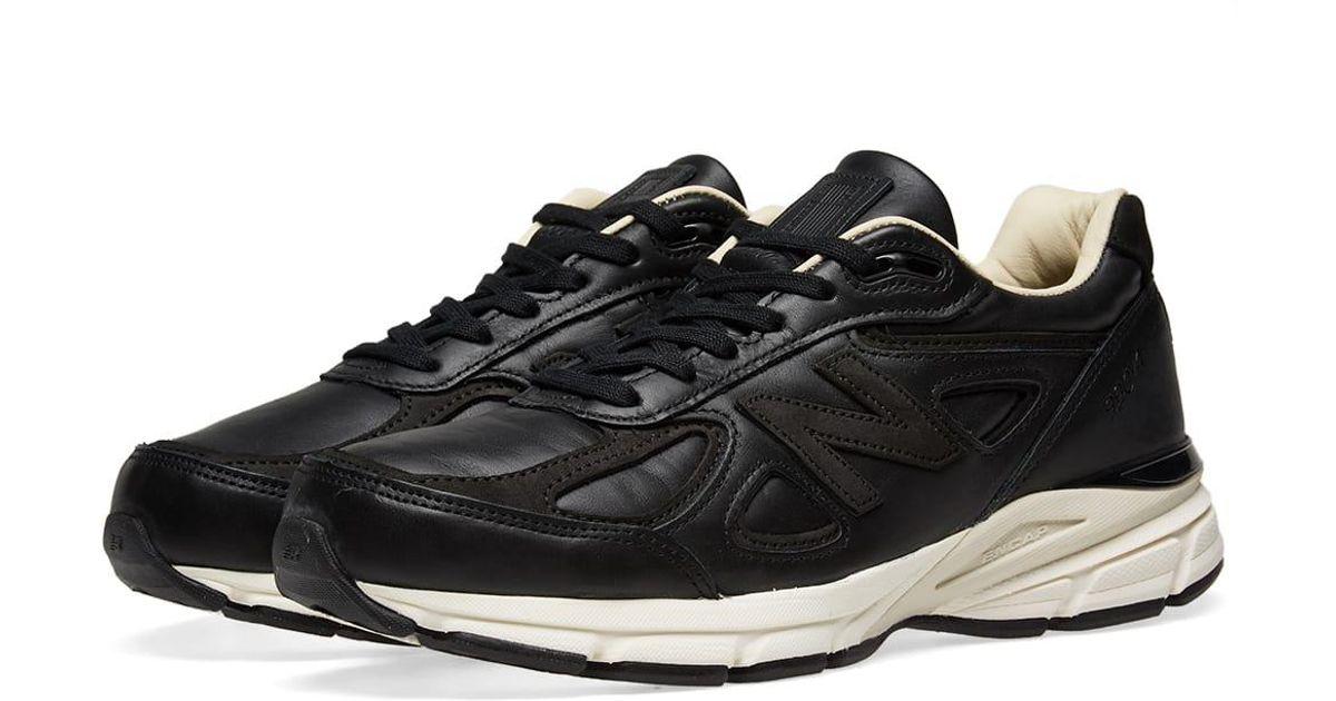 best sneakers d6a35 9ee70 New Balance Black Made 990v4 Sneaker for men