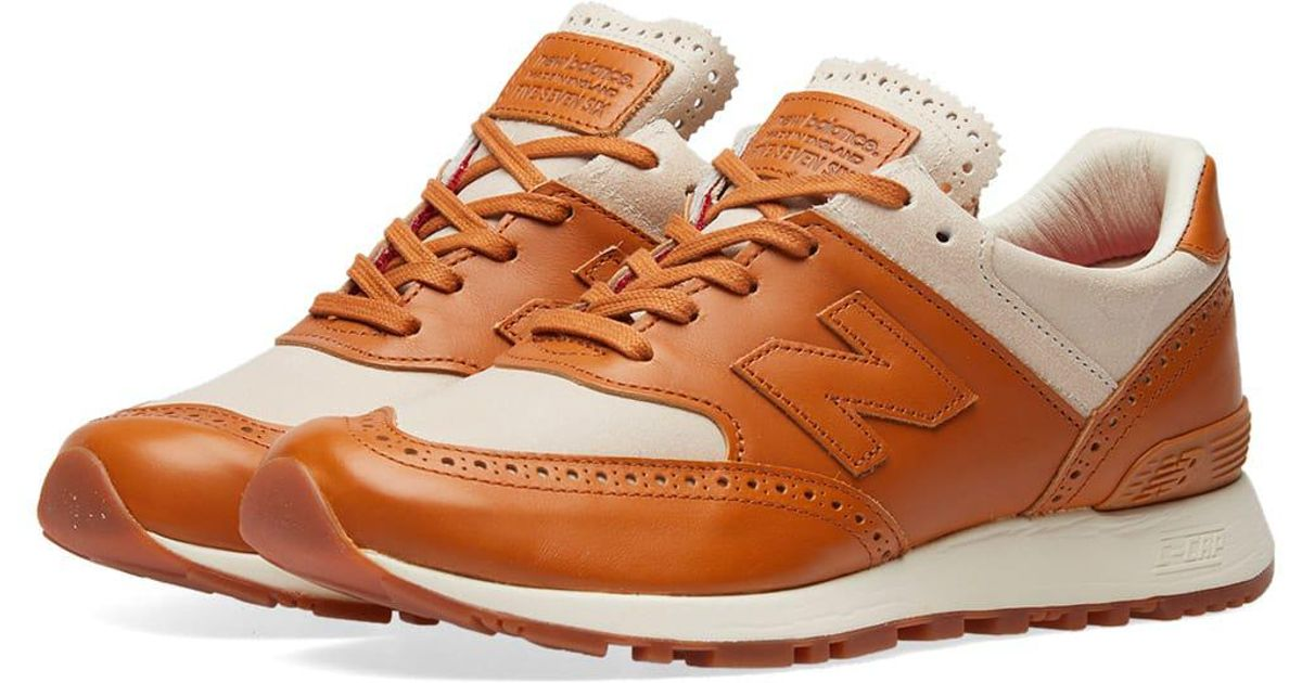 sports shoes dc555 dffa2 New Balance X Grenson W576gtw in Brown for Men - Lyst