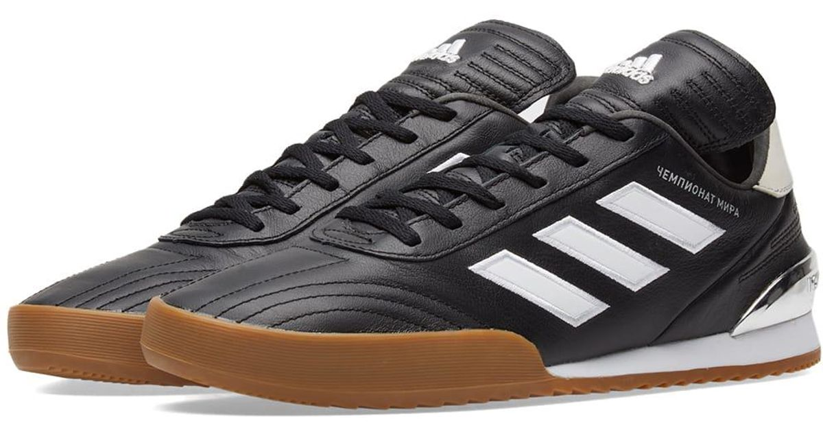 Gosha Rubchinskiy Black Adidas Copa Sneaker for men