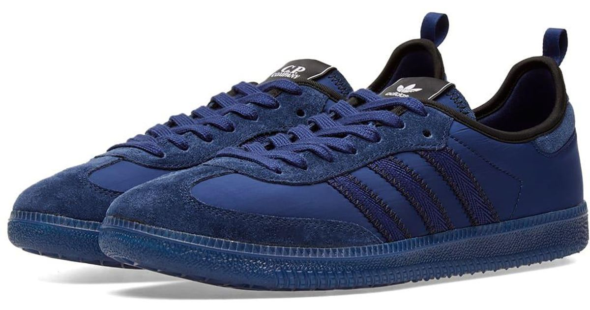 quality design dcd0c c1fd3 Adidas Blue X C.p. Company Samba for men