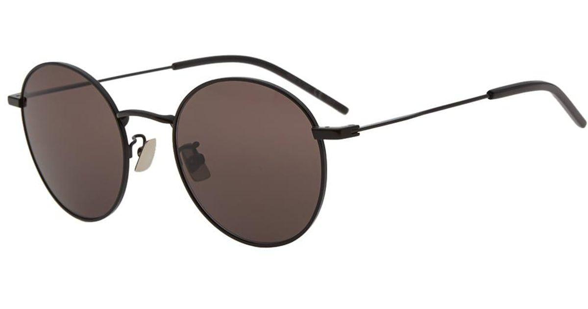 b4365c65fd8 Lyst - Saint Laurent Sl 250 Sunglasses in Black for Men
