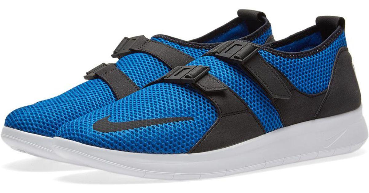 09f38a9681df3 Lyst - Nike Air Sock Racer Ultra Se in Blue for Men