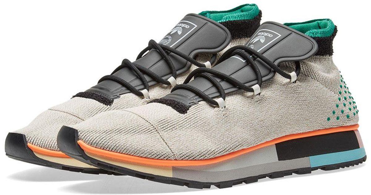 d57ca1e085b Lyst - Alexander Wang Adidas Originals By Alexander Wang Run Mid in Gray  for Men