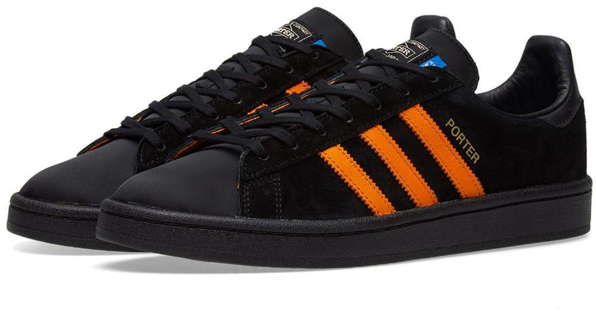 69f94e2c8404 Lyst - adidas Originals Adidas X Porter Campus in Black for Men