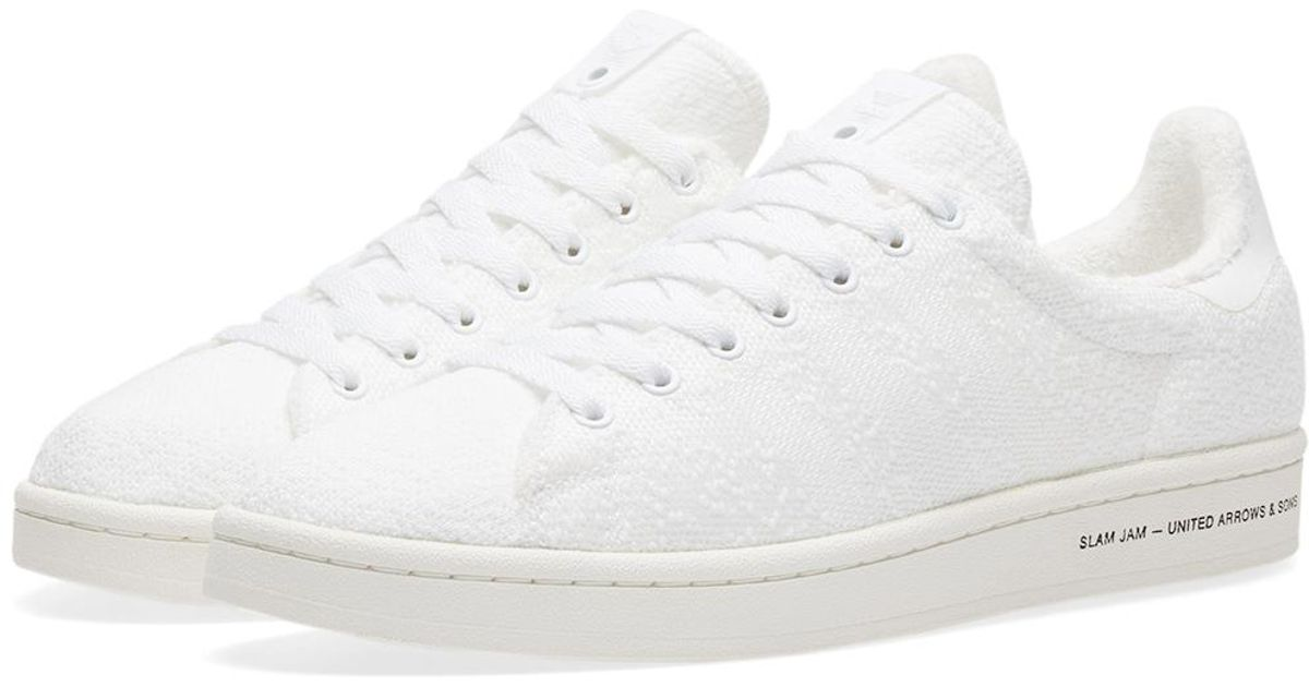 low priced b2611 5a958 Lyst - Adidas Originals X United Arrows  Sons X Slam Jam Campus in White  for Men