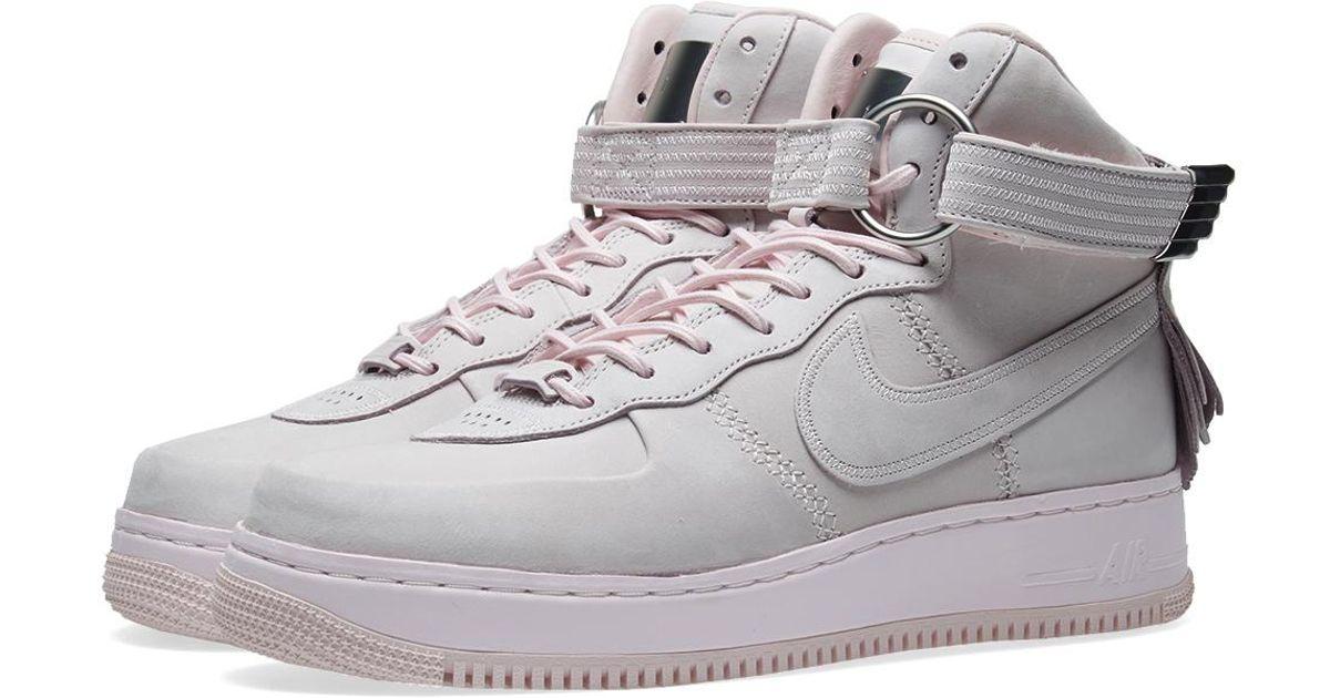 nike air force 1 high sl in pink for men lyst. Black Bedroom Furniture Sets. Home Design Ideas