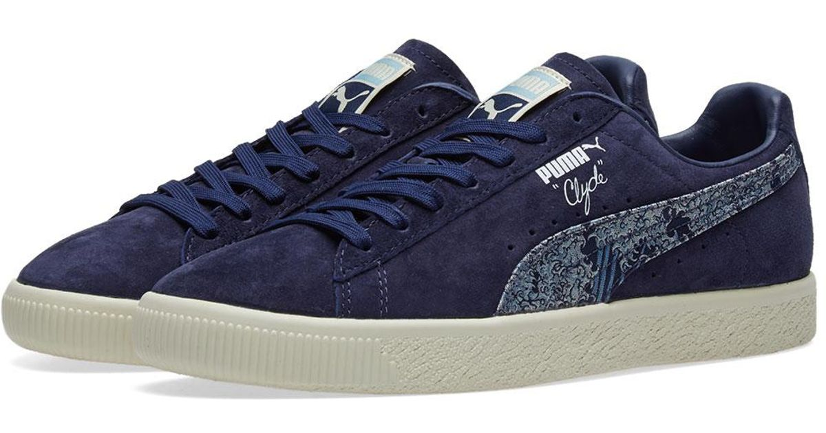 separation shoes 6dc3f 62c65 PUMA Blue Clyde 'marine Day' for men