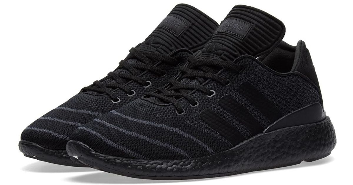 ... low cost lyst adidas busenitz pure boost pk in black for men 8251c  a6529 ... 870375d8b