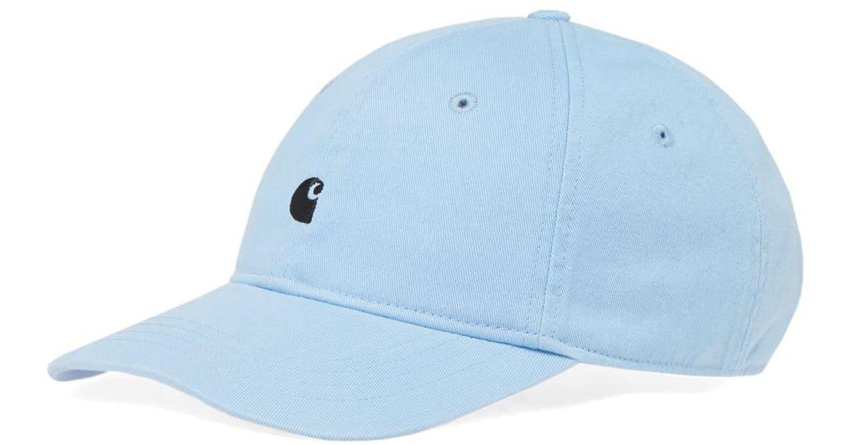 2c2363135b4 Carhartt WIP Carhartt Madison Logo Cap in Blue for Men - Lyst