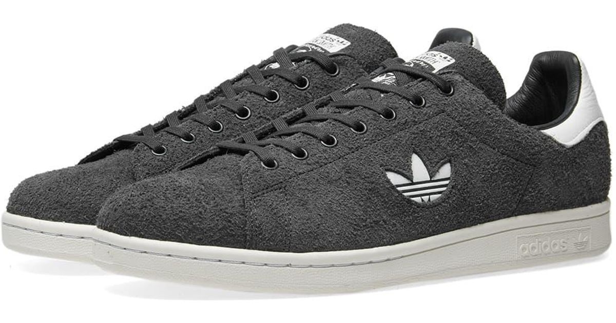 acheter pas cher ee9f2 85ee7 Adidas Gray Stan Smith Premium Suede for men