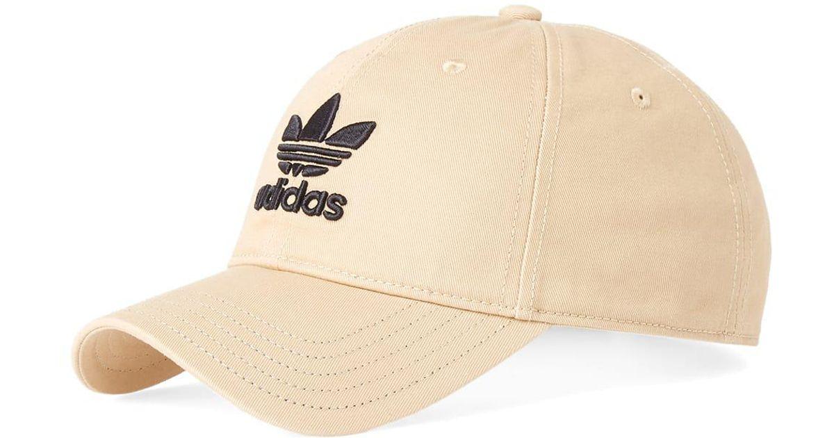 adidas Trefoil Cap in Brown for Men - Lyst e65eacdf118