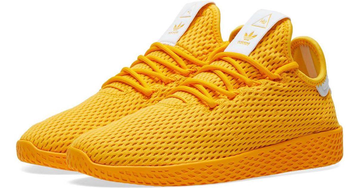 X Pharrell Williams Tennis Hu in Yellow