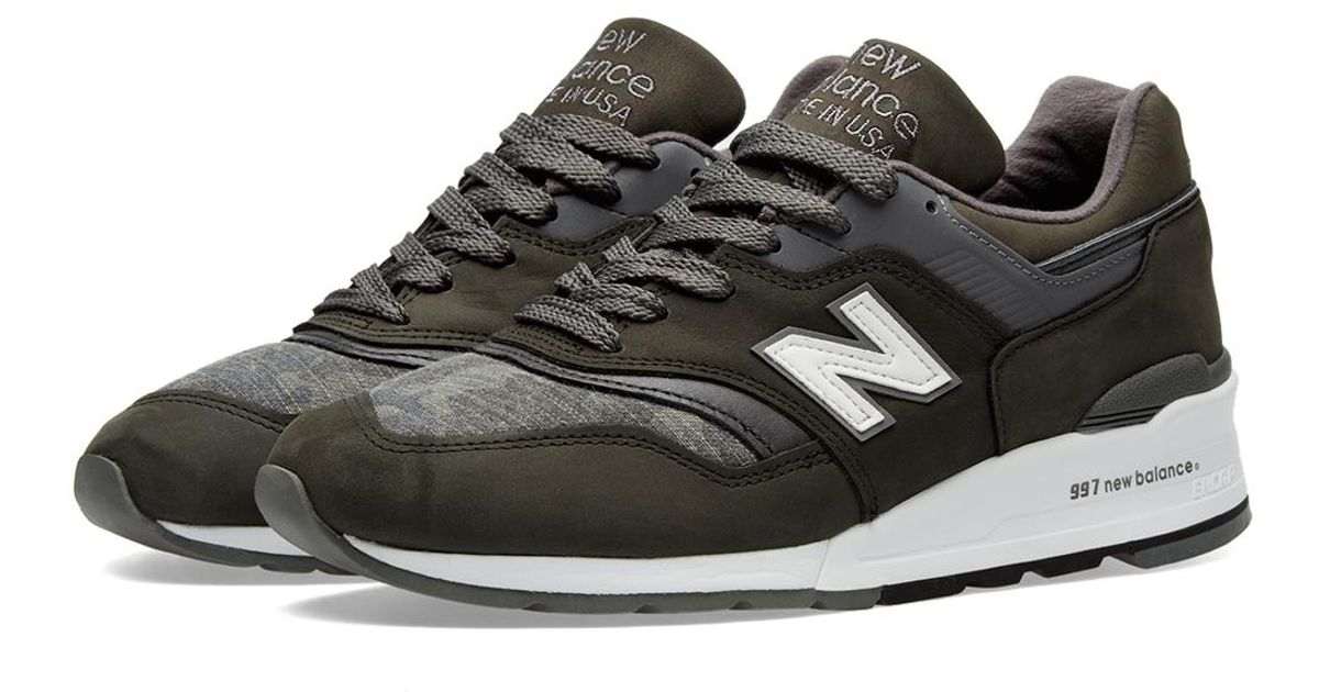 buy popular d57f7 15118 New Balance Green M997dpa - Made In The Usa for men
