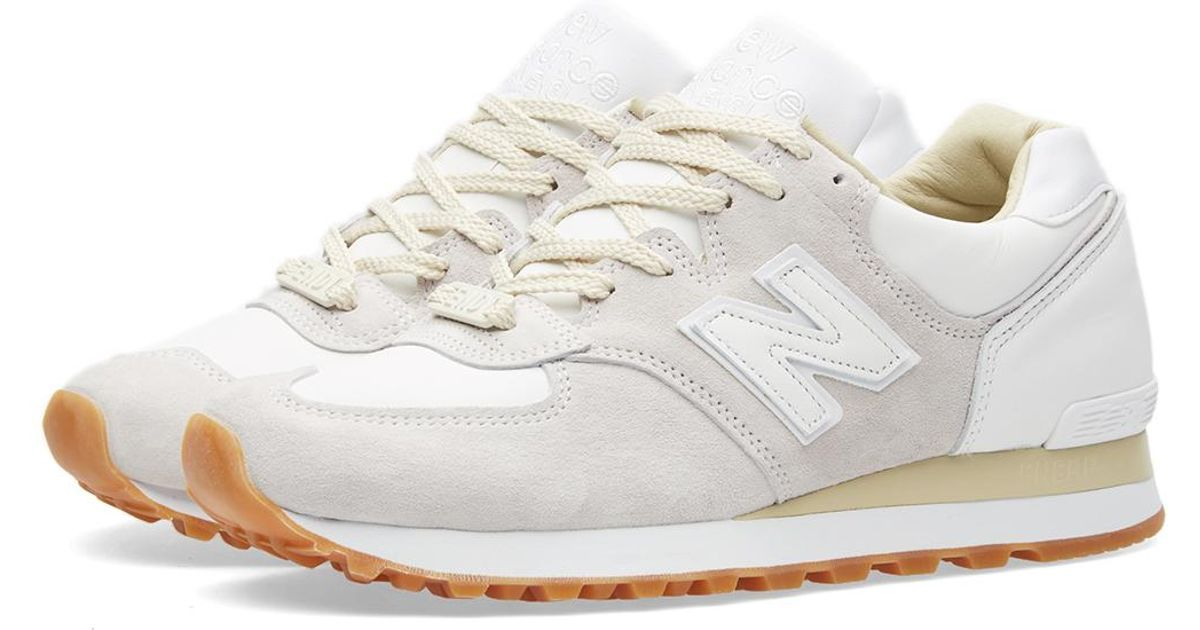 END x New Balance M575END Marble White