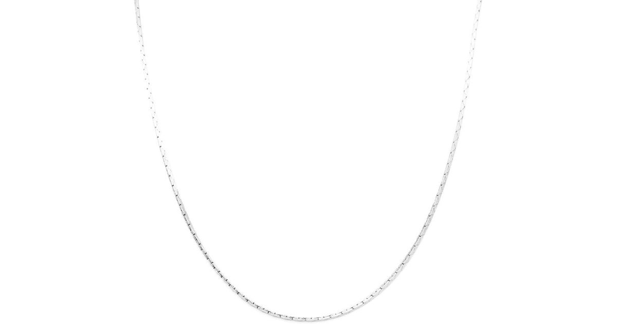 fb87e2cb22 Saint Laurent Metallic Ysl Necklace