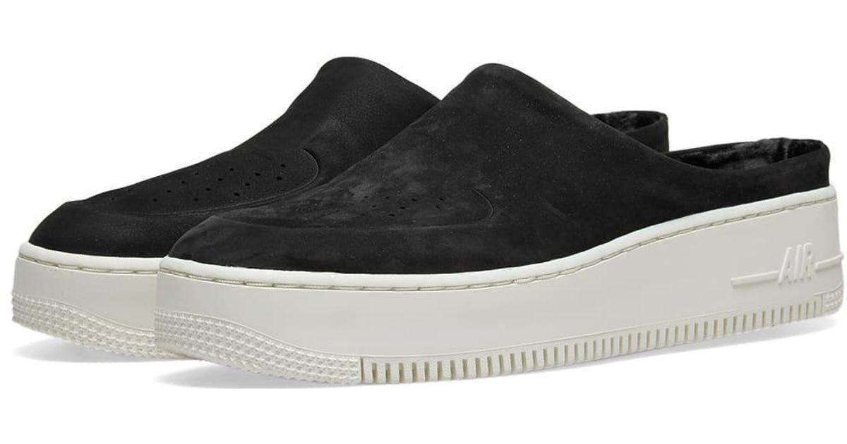 lowest price 7f8f3 5998c Nike Black Air Force 1 Lover Xx Premium W