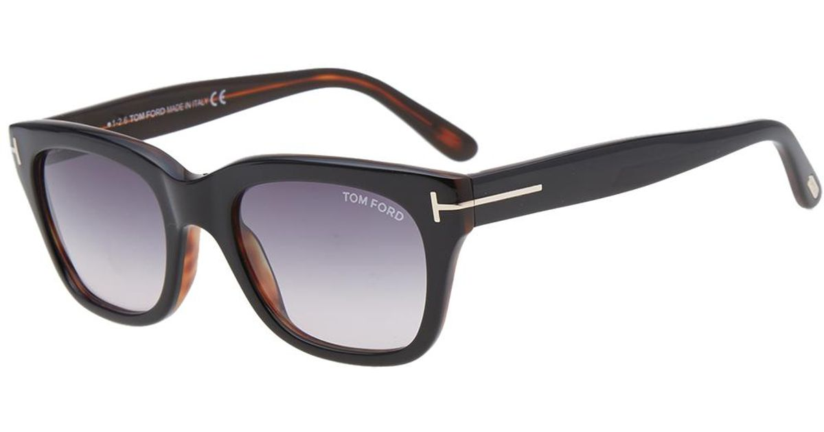 lyst tom ford tom ford ft0237 snowdon sunglasses in. Black Bedroom Furniture Sets. Home Design Ideas