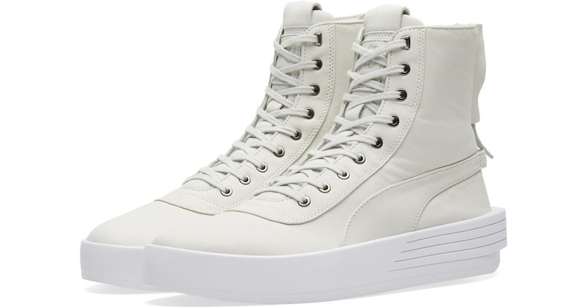 Lyst - PUMA X Xo By The Weeknd Parallel Sneaker Boot in White for Men 0a7f374a4