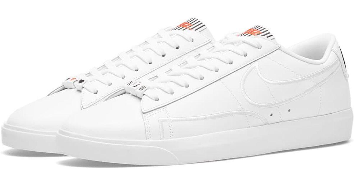 ab5873ea4154 Lyst - Nike Blazer Low Se Lx W in White for Men