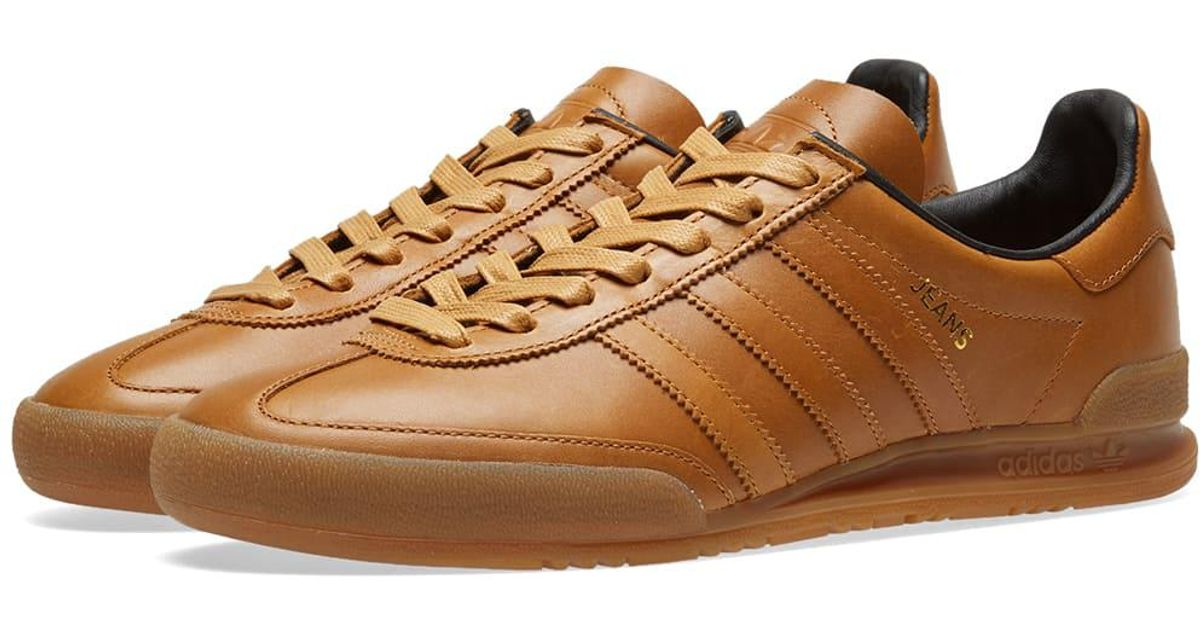 gorra Desesperado Bóveda  adidas Denim Jeans Mkii Sneakers in Brown for Men - Lyst