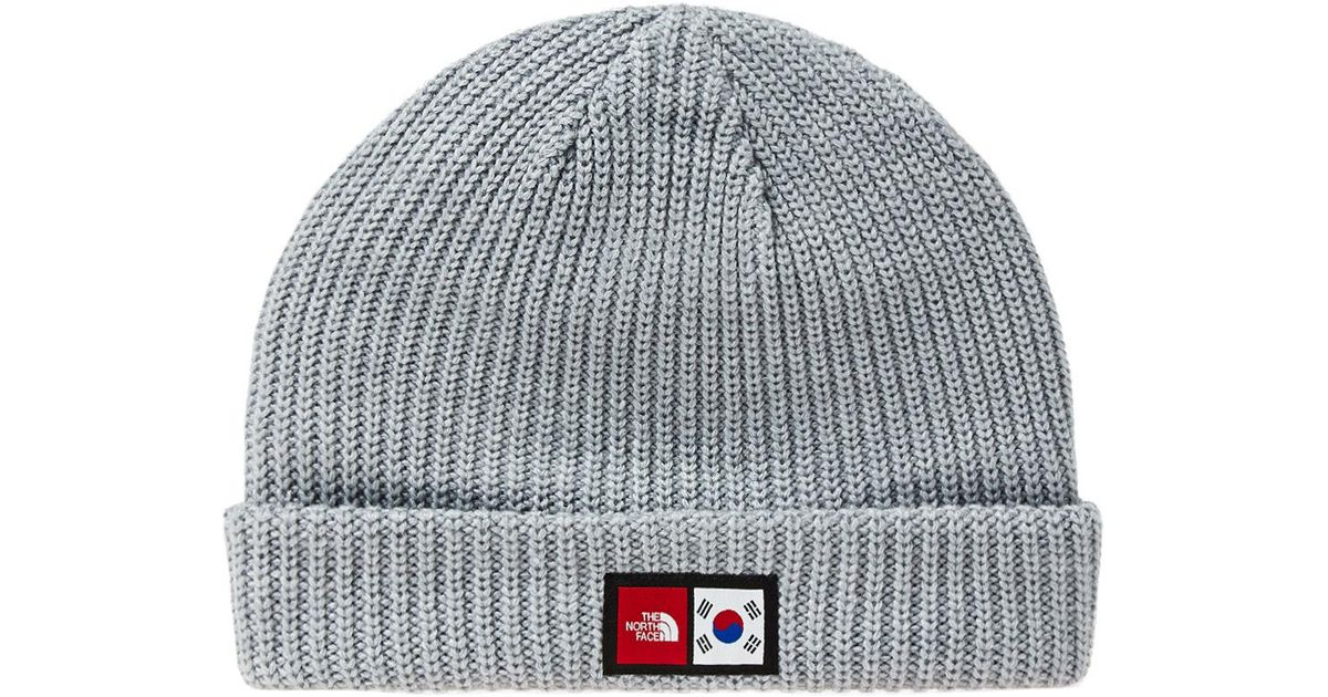 bc29a65d9 The North Face Gray Ic Label Beanie for men