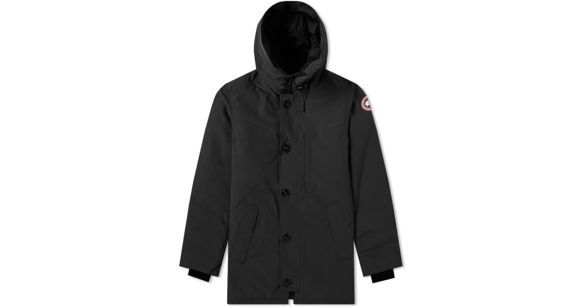 dcbe2e3c476 ... reduced canada goose chateau no fur parka in black for men lyst f00c7  7a189