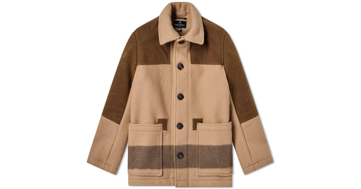 62a810a2bae9 Lyst - Nigel Cabourn Donkey Jacket in Brown for Men