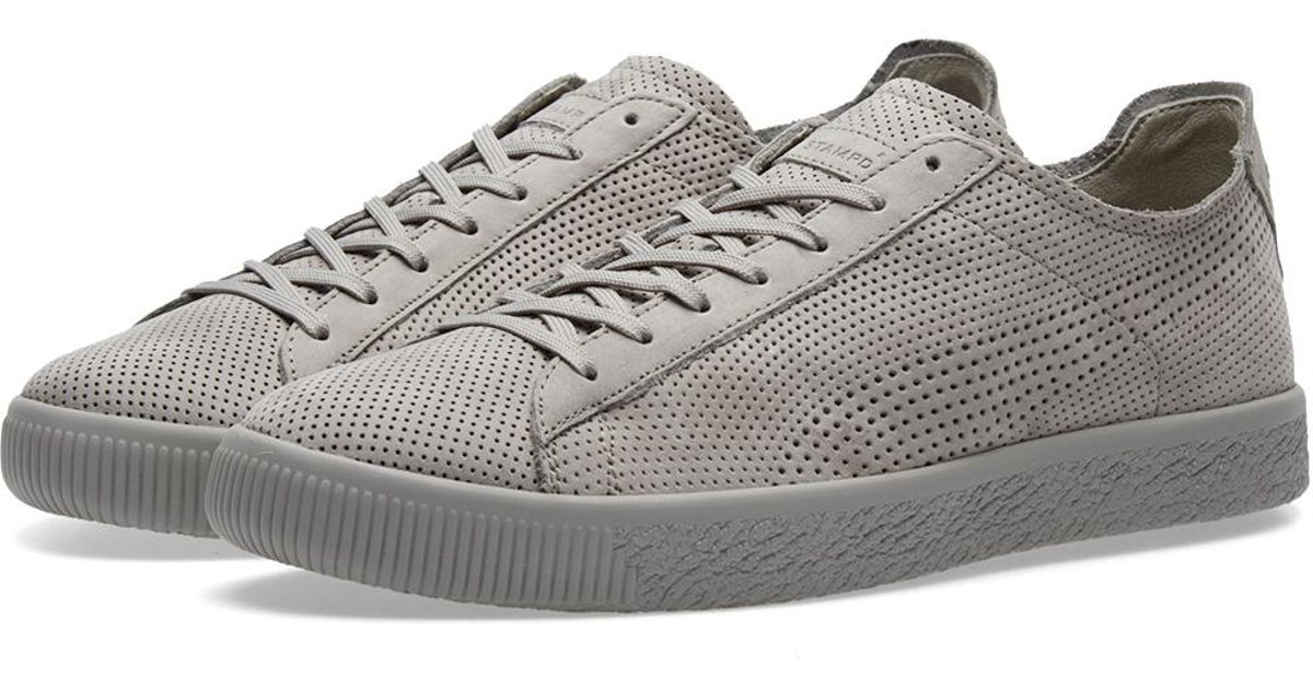 size 40 acb6a 914f7 PUMA Gray X Stampd Clyde for men