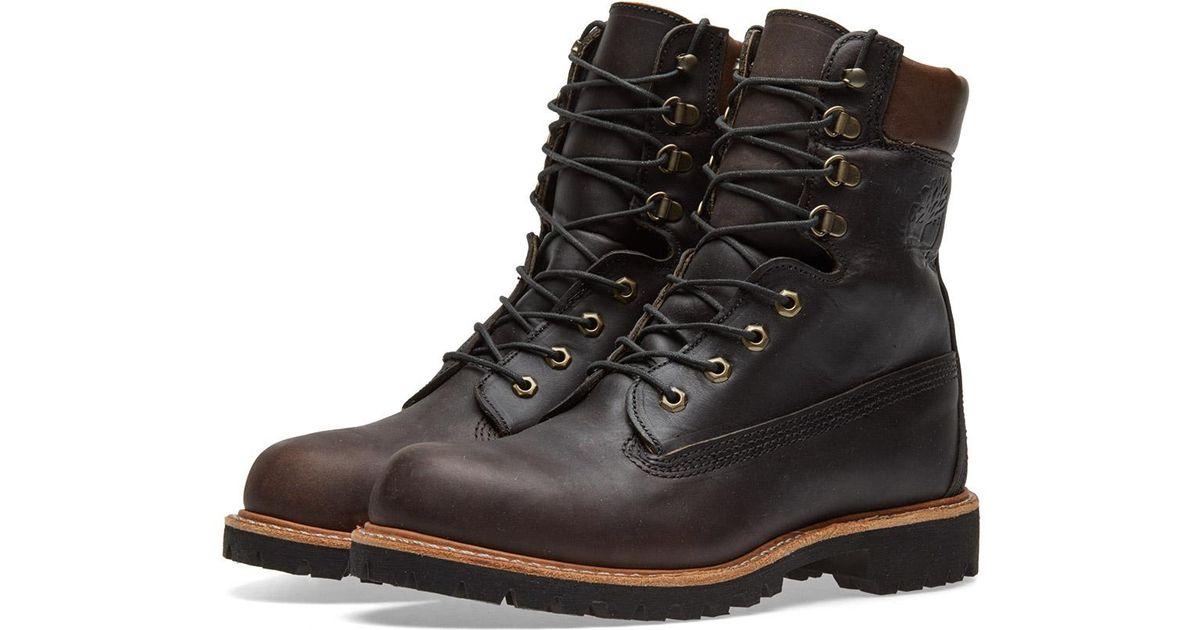 molino Explicación Prevalecer  Timberland Leather Usa Made 8