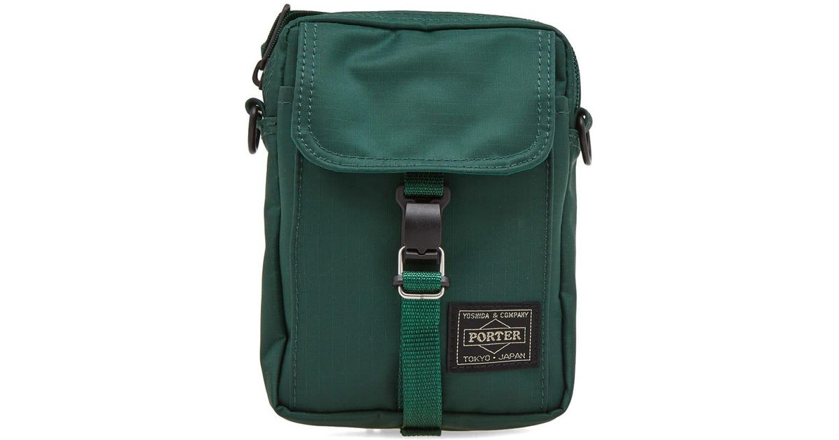 c0982a89a3 Lyst - Head Porter Arno Travel Pouch in Green for Men
