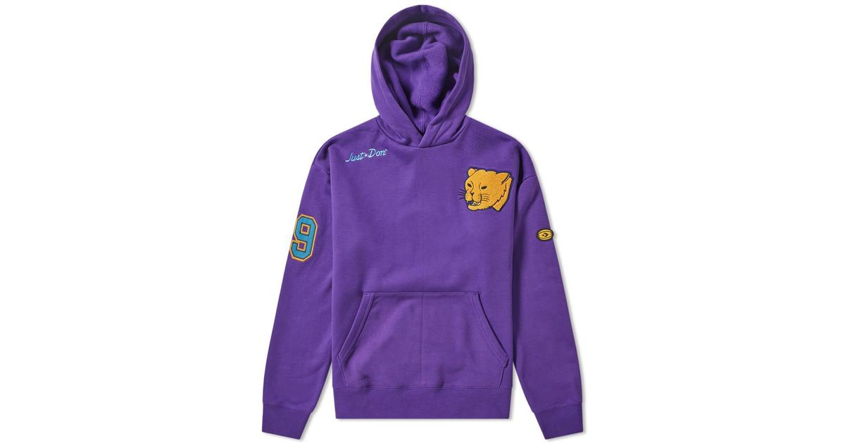 Converse Purple X Just Don Hoody for men
