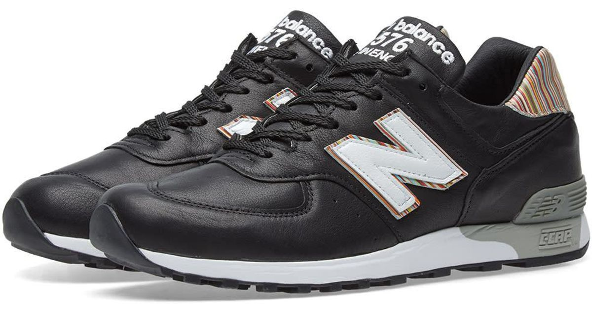 sports shoes ad123 b2774 New Balance Black X Paul Smith M576psk - Made In England for men