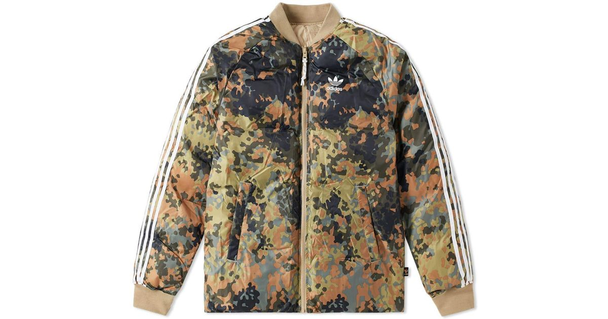 fresh styles authentic recognized brands Adidas Green X Pharrell Williams Reversible Sst Winter Jacket for men
